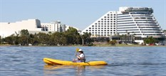 Kayaking in Burswood