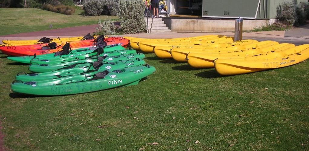 The competition for kayak hires can be intense, with large groups often arriving to take out the lot. Booking is highly recommended to avoid any disappointment.