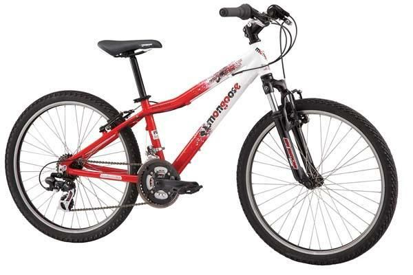 Our new range of Mongoose childrens bikes has proved very popular.