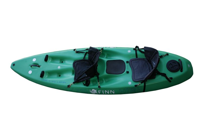The Dolfinn is a locally made double kayak