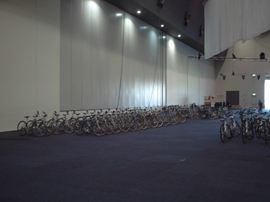 Could we deliver 178 bikes to the Convention Centre for a hire? Upon this occasion, the answer was yes.