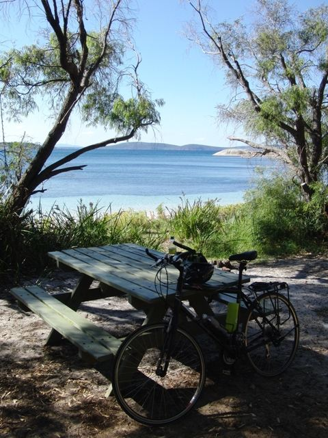 The Western Australian coast is easily accessible by bike.